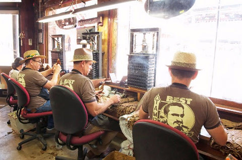 Cuban Rollers at Cigar Rollers