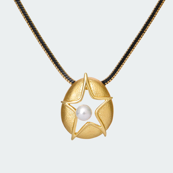 Bold Starfish Necklace