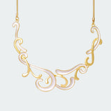 Golden Flourish Necklace