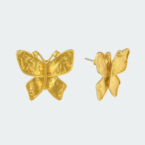 Gilded Butterfly Earrings