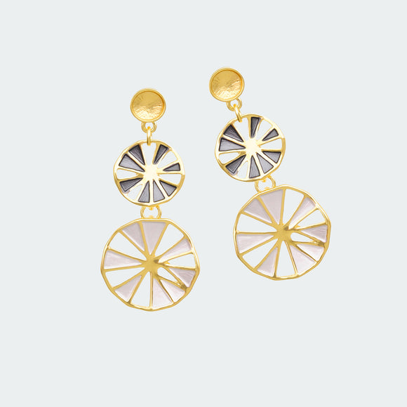 Shining Parasol Earrings