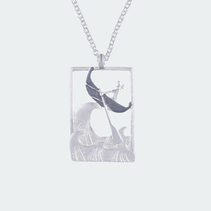 Platinum Brazen Sailorette Necklace