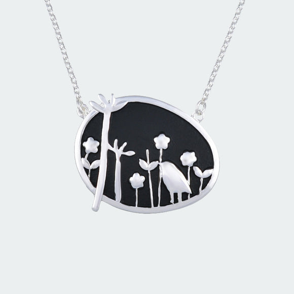 Silver Forest Dream Necklace