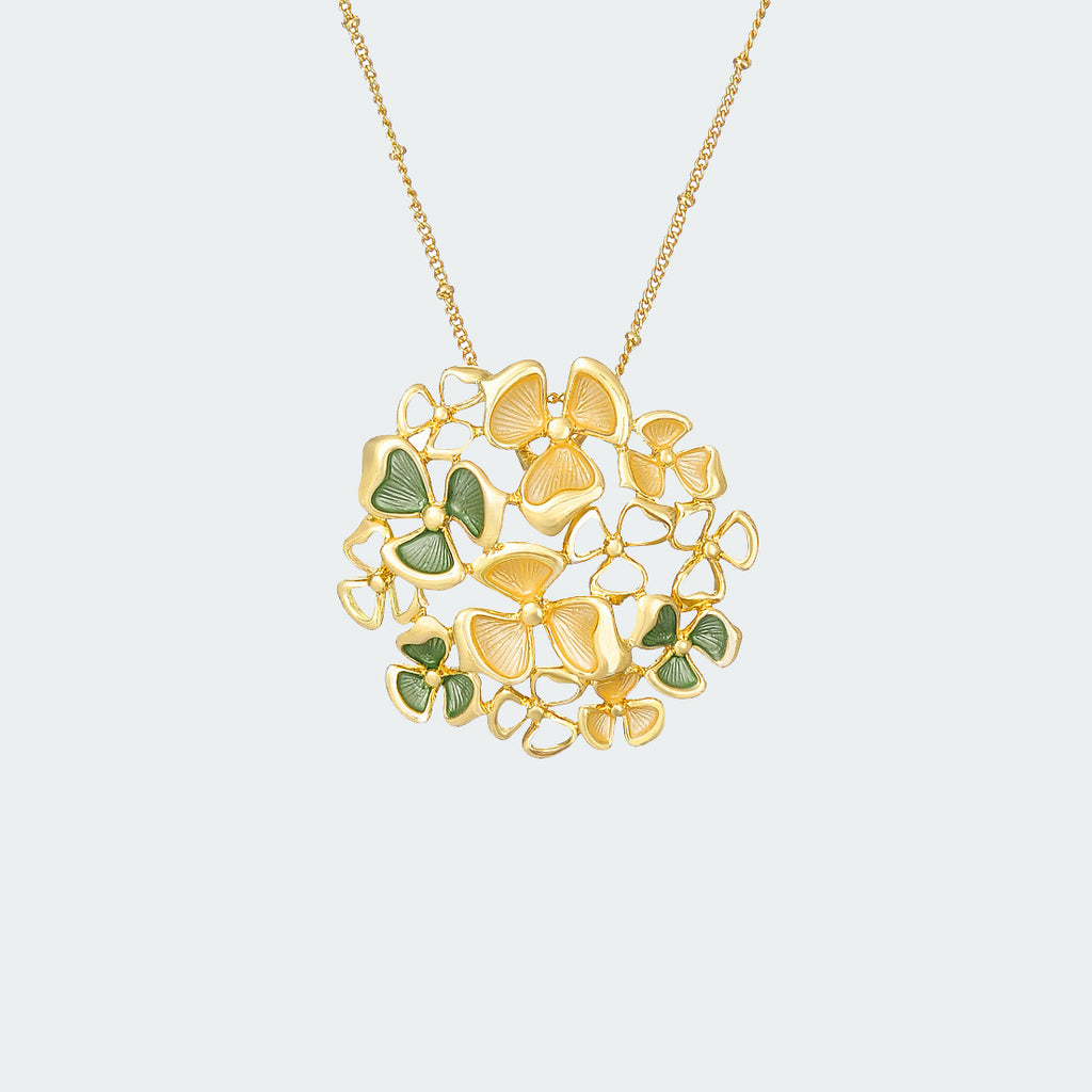 Gilded Garden Necklace