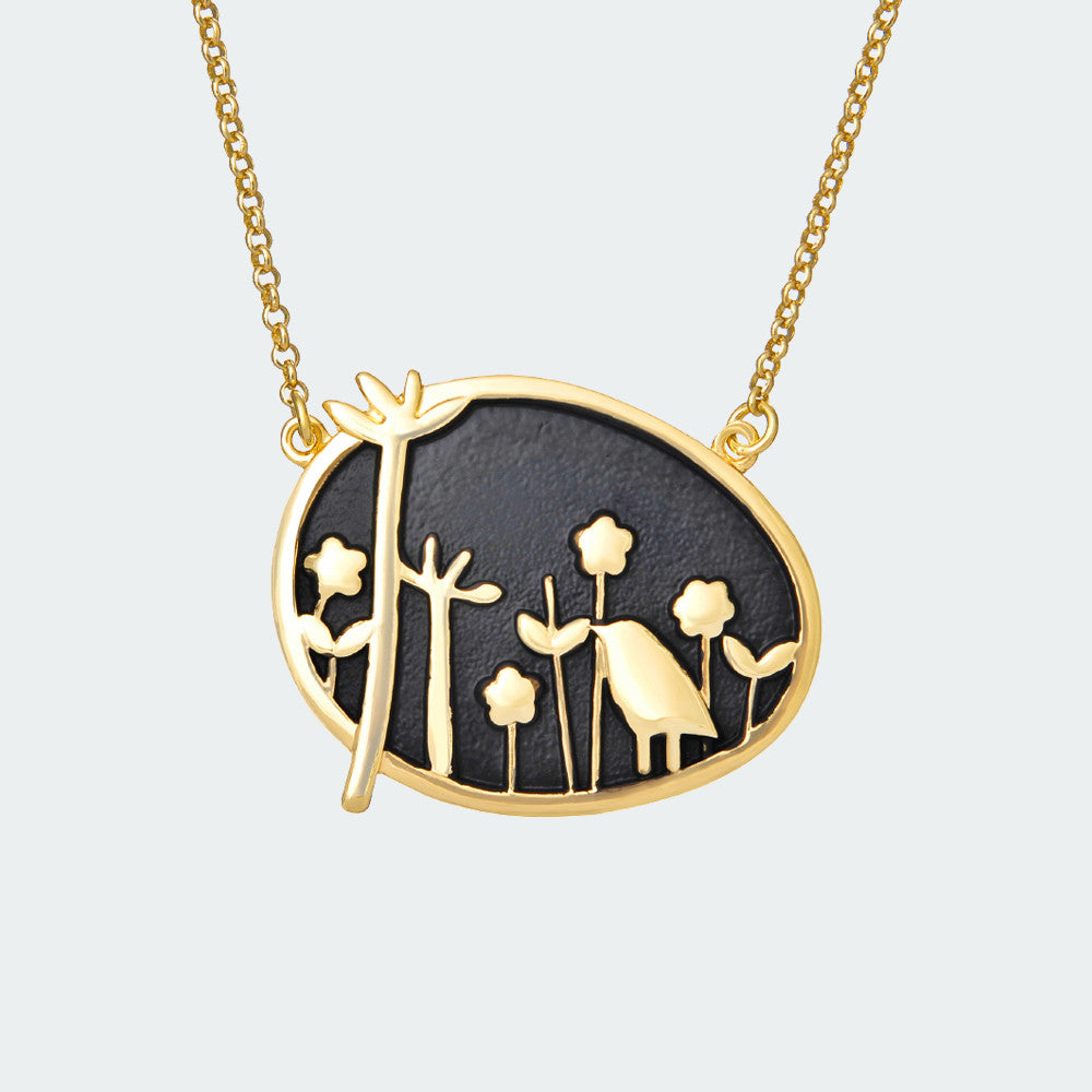 Forest Dream Necklace – Gold