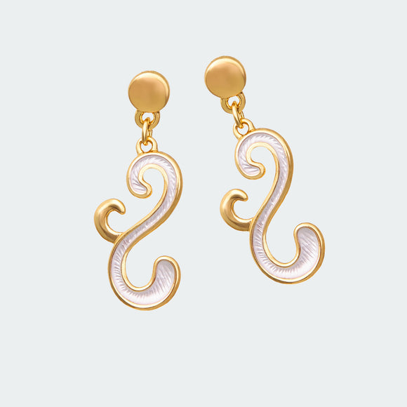 Golden Flourish Earrings