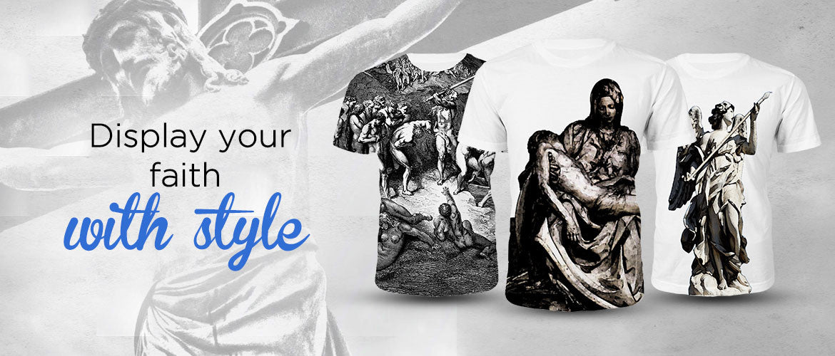 Christian Art T Shirts