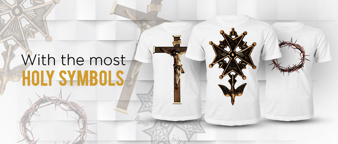 Holy Symbols Christian T Shirts