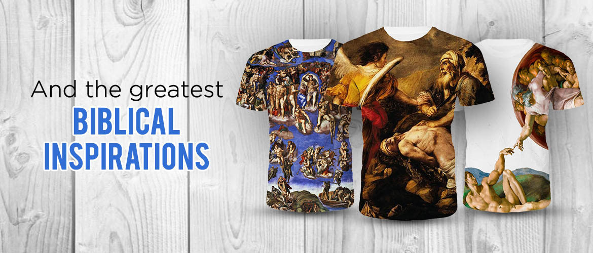 Biblical Scenes Christian T Shirts
