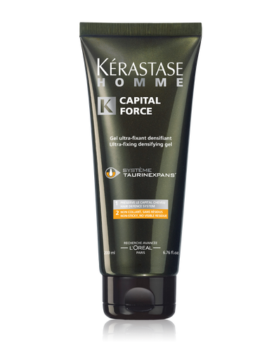 CAPITAL FORCE GEL HOMME KÉRASTASE