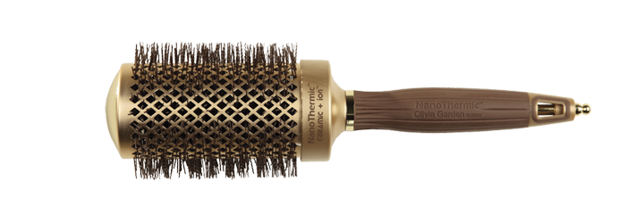 HAIR BRUSH Nt-54 NANO THERMIC ROUND THERMAL OLIVIA GARDEN
