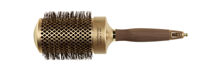 HAIR BRUSH Nt-64 NANO THERMIC ROUND THERMAL OLIVIA GARDEN