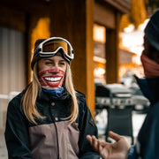 Women's SNO-GO Perma-grin Face Mask Buff