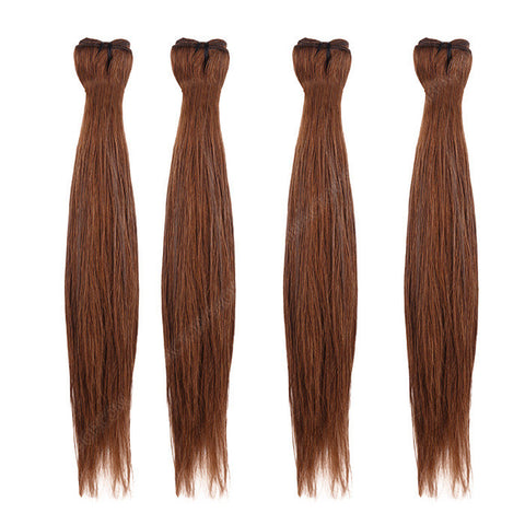 BRAZILIAN HAIR WEAVE 100% REMY Hair Straight #4 Chocolate