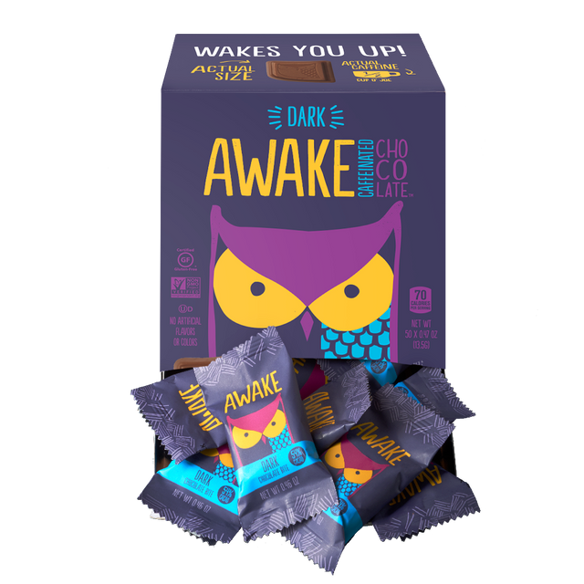 Dark Chocolate Bites - AWAKE CHOCOLATE