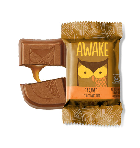 Caramel Chocolate Bites - AWAKE CHOCOLATE