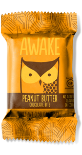 Peanut Butter Chocolate Bites - AWAKE CHOCOLATE