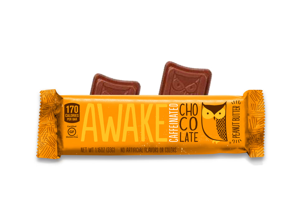 Peanut Butter 2Bite Bar - AWAKE CHOCOLATE