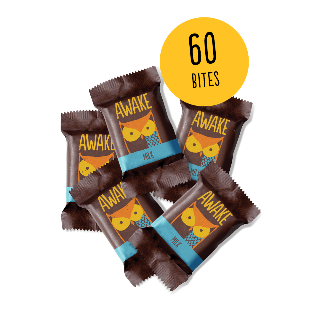 AWAKE Chocolate Bites - 60 Bites