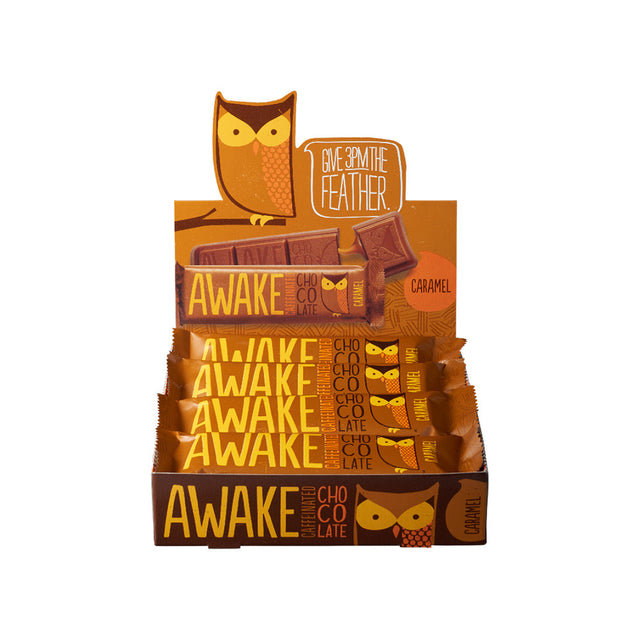 Caramel Chocolate Bars - AWAKE CHOCOLATE
