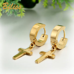Beautiful Cross Earrings