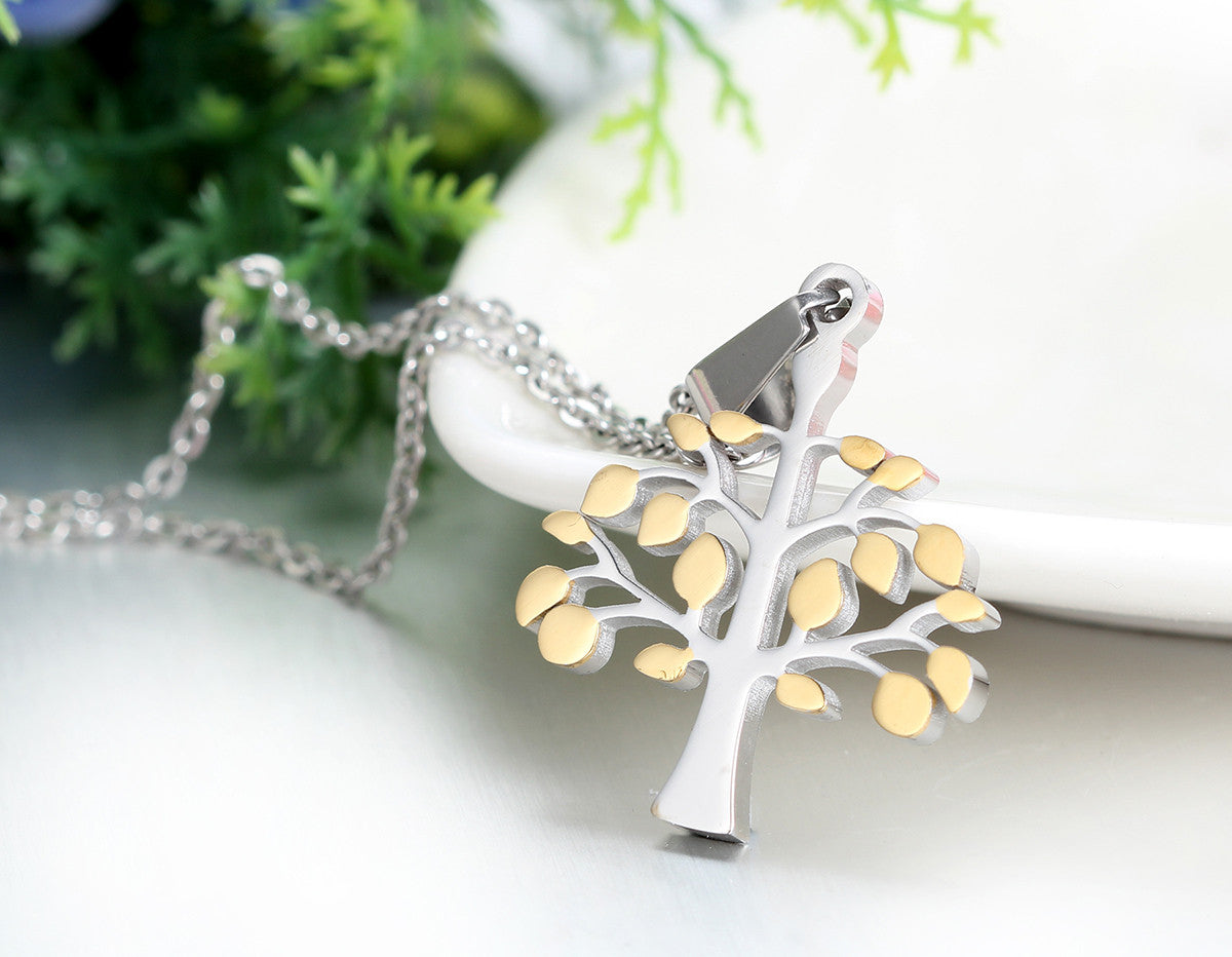 Retro Tree of Life Necklace