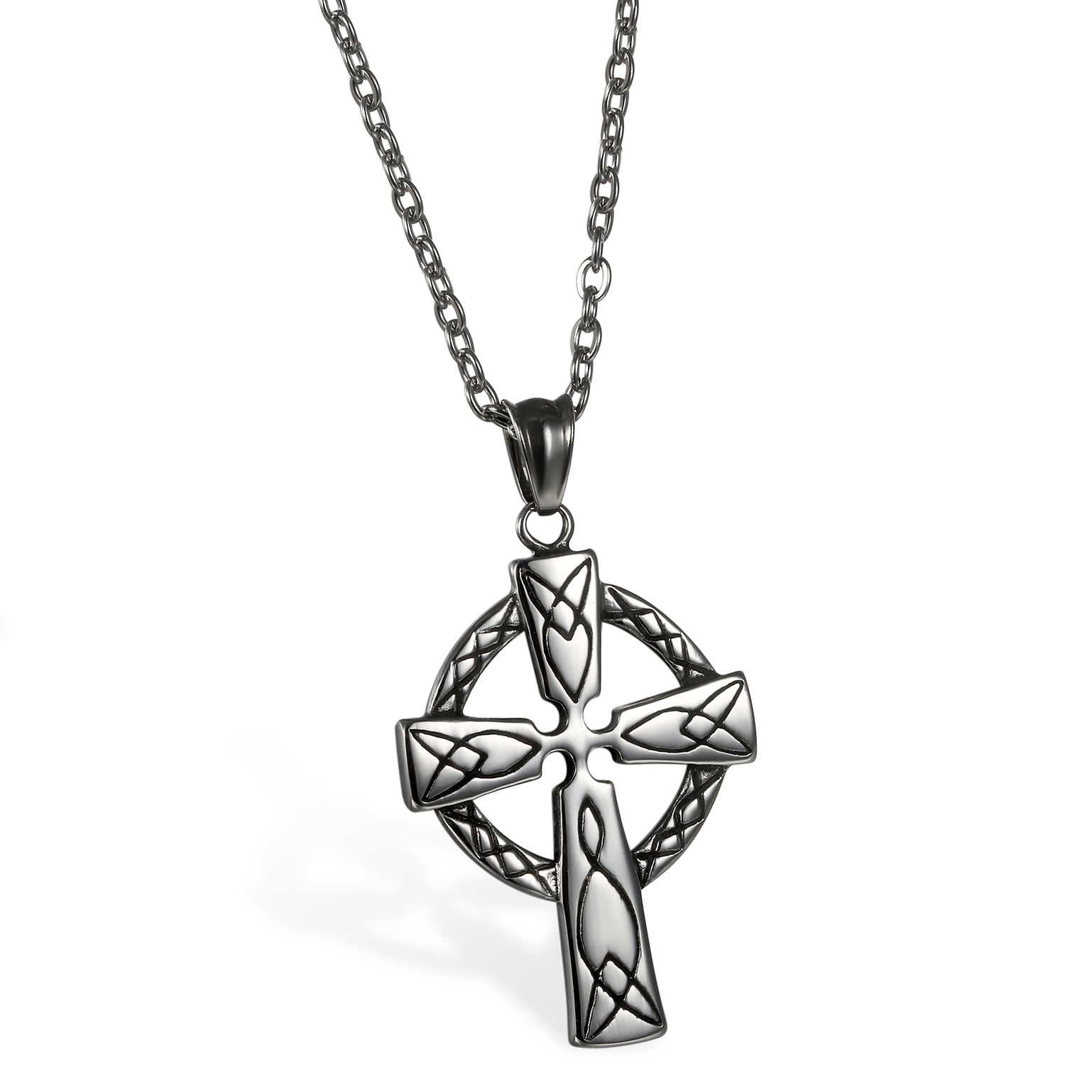 Ornamental Cross Necklace