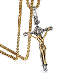 Catholic INRI Cross Crucifix Necklace