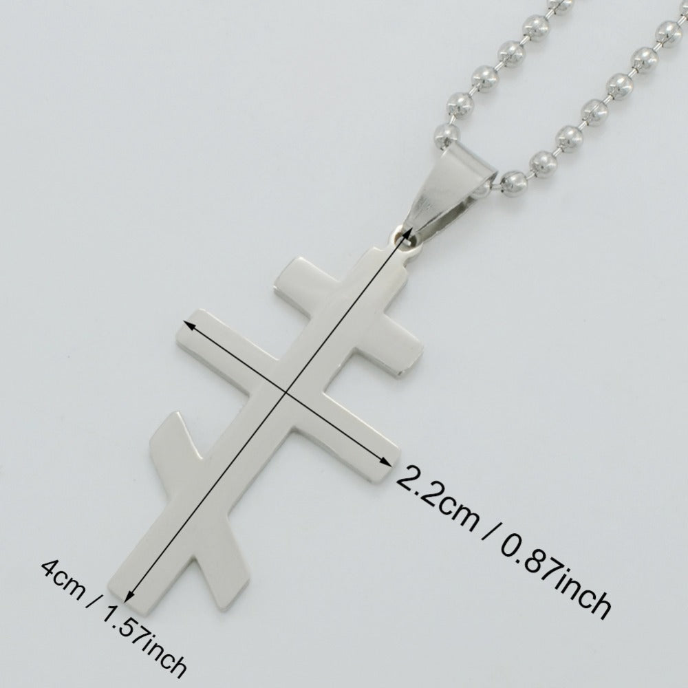 Orthodox Cross Necklace