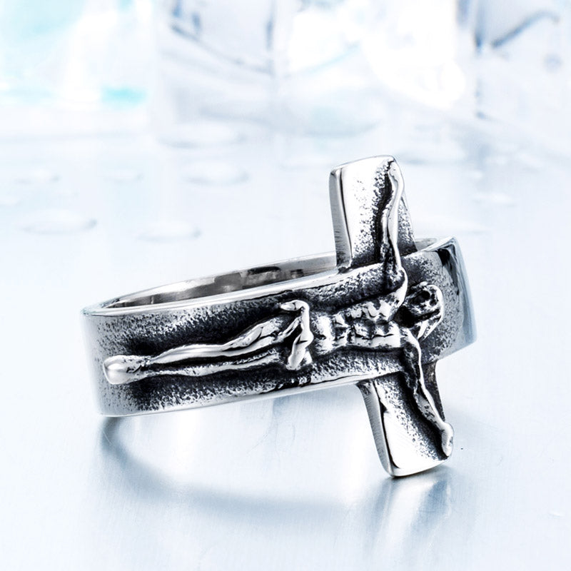 Unique Crucifix Ring