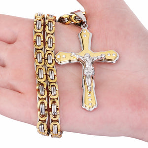 Massive Crucifix Necklace