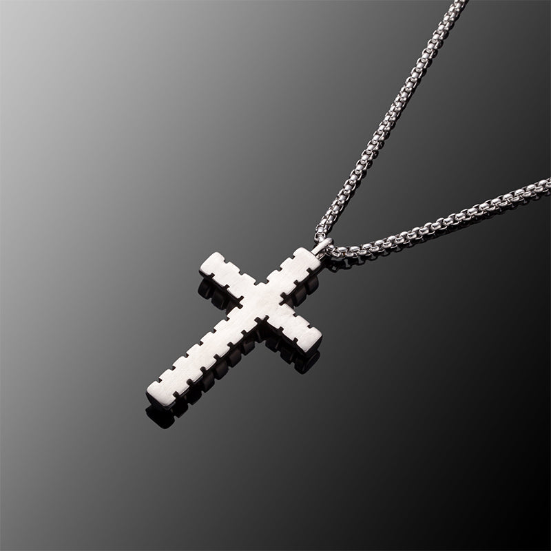 Designer Cross Pendant Necklace