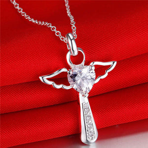 Divine Love Angel Necklace