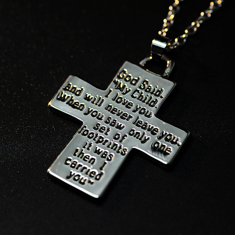 Jesus Footprint Necklace