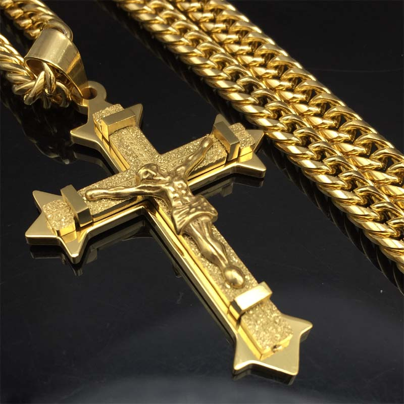 Powerful Crucifix Necklace