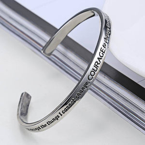 Serenity Prayer Bracelet for Women