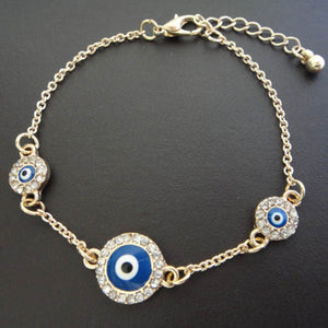 Turkish Blue Evil Eye Bracelet