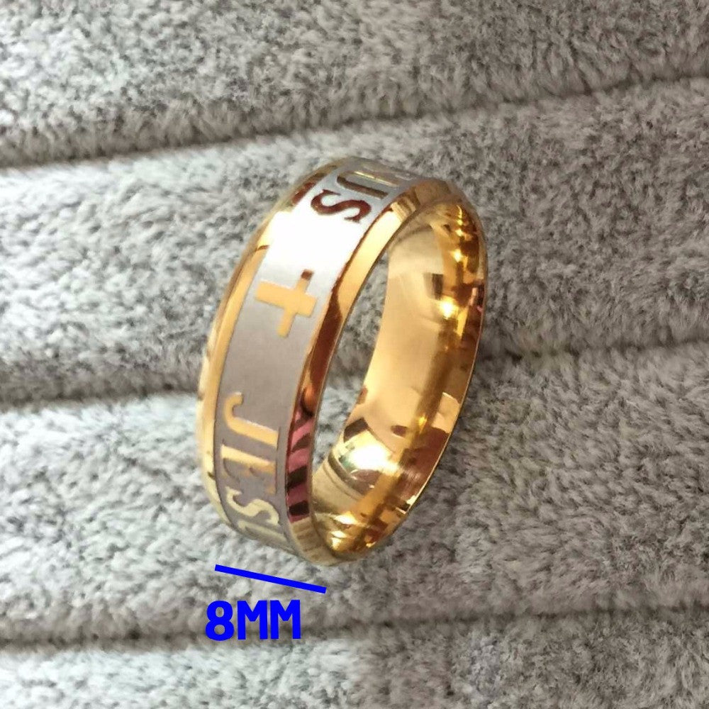 Jesus Ring for Men and Women