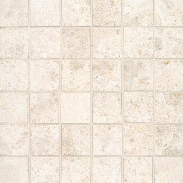 AlysEdwards - Luxy 2x2 Alabaster Honed FABCTS - Stone Look Porcelain - Specialty Tile