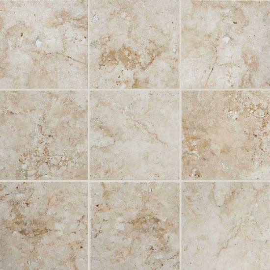 American Olean - BD01 13x13 Creme - Stone Look Porcelain - Specialty Tile