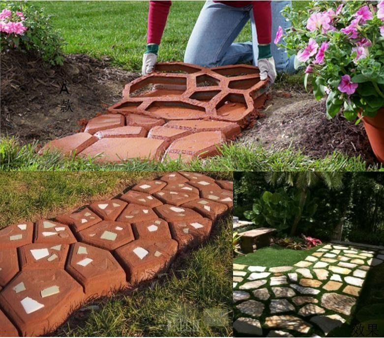 FREE SHIPPING - PATIO PAVING MOLD - PATIO BUILDING TOOL