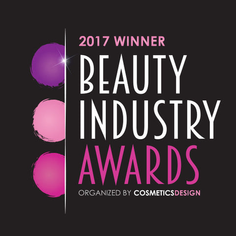 2017 WINNER of the Beauty Industry Awards Best Use of an Ingredient in a Finished Product.
