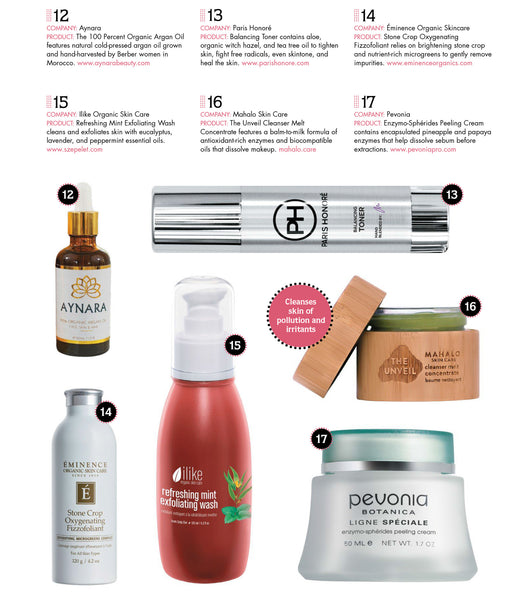 American Spa Magazine Fresh Finds Paris Honore Balancing Toner