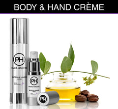 organic unisex Body & Hand Cream from PARIS HONORÉ Luxury Organic Skin Care