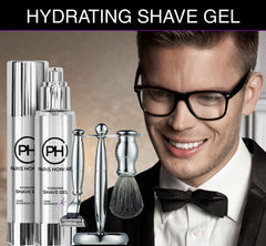 Organic Hydrating Shave Gel for Men from PARIS HONORÉ Luxury Organic Skin Care