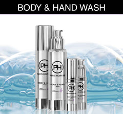 organic unisex Body & Hand Wash from PARIS HONORÉ Luxury Organic Skin Care