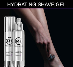 organic Hydrating Shave Gel for Women by PARIS HONORÉ Luxury Organic Skin Care