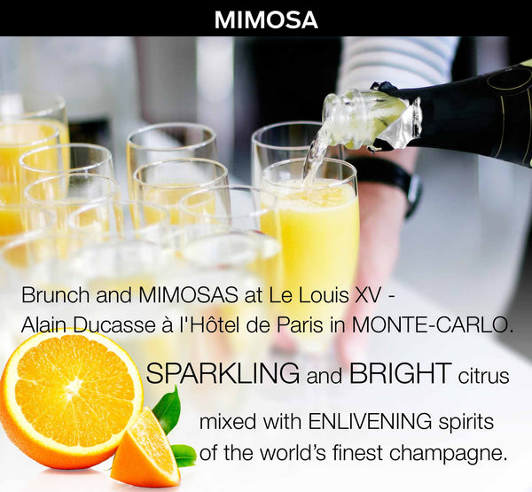 MIMOSA - a Bespoke Fragrance Offering from PARIS HONORE the World's Finest Luxury Organic Skin Care