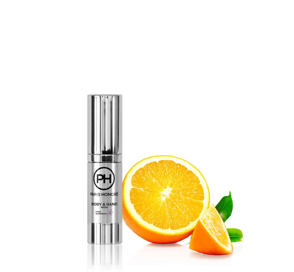 Organic Body & Hand Wash in Citrus and Champagne 15ml - PH Simpy Skincare