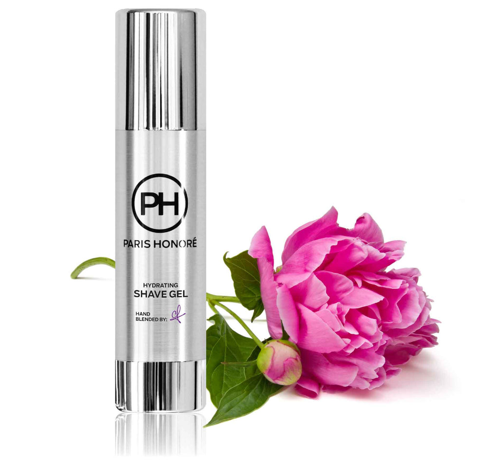 Hydrating Shave Gel in Peony 100ml by PH Simply Skincare